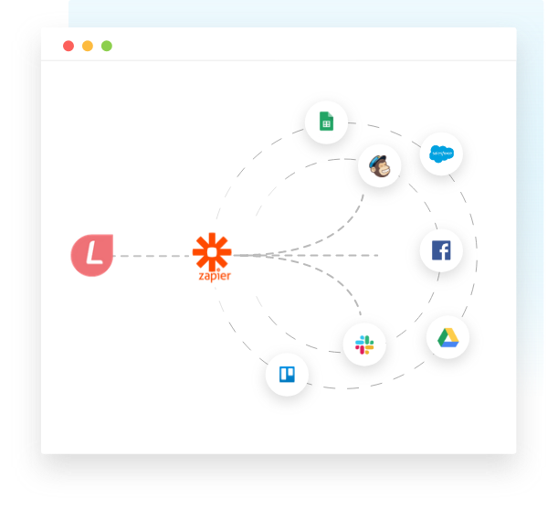 Integrations to LeadGen forms via Zapier