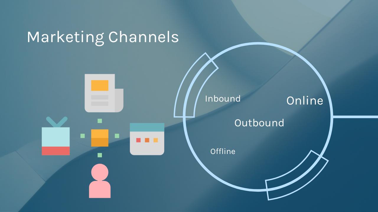 Marketing channels illustration