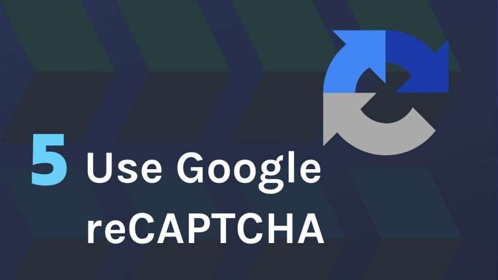 Use Google reCAPTCHA as a filter for form spam
