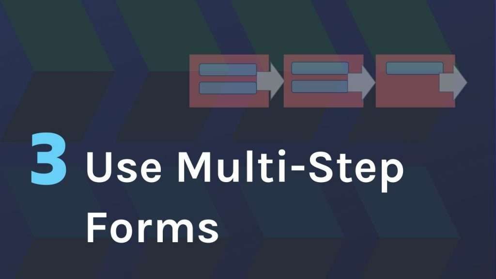 Use Multi-Step Forms for better lead quality on Wordpress sites