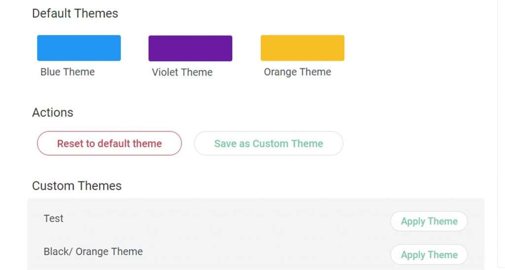 Custom themes for lead gen forms