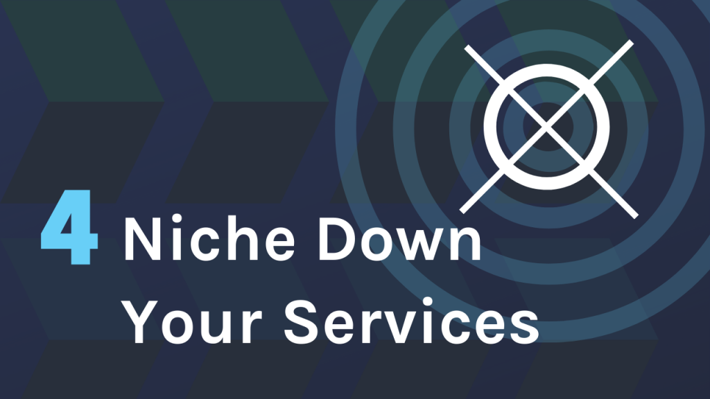 How to niche down your web design services