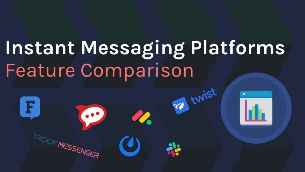 Instant Messaging Platform tool logos and comparison