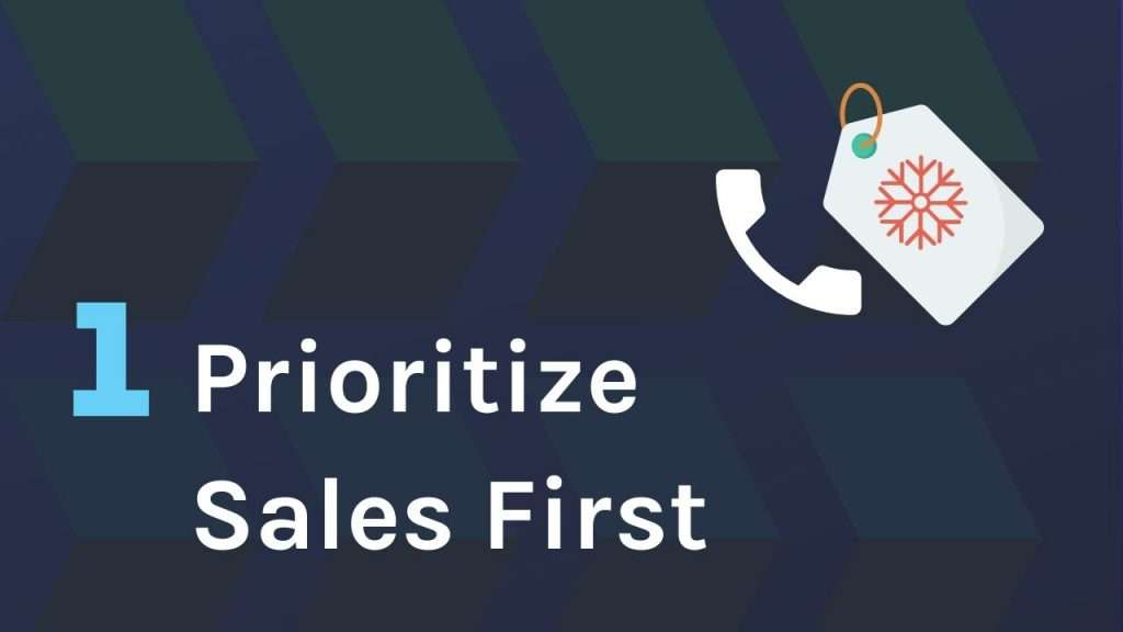 A Sales First Approach to Web Design prospecting