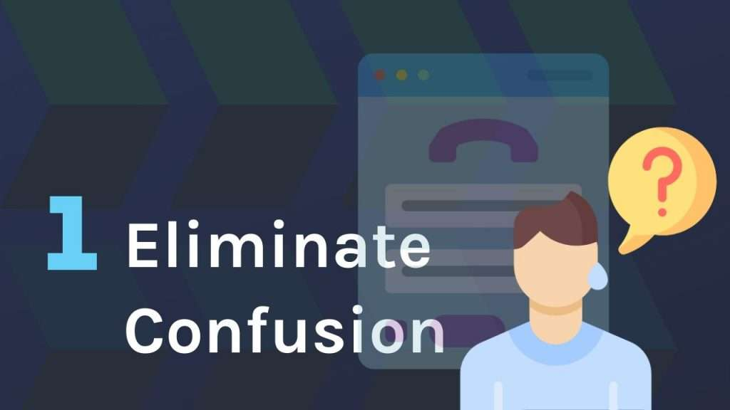 Eliminate confusion in online form design