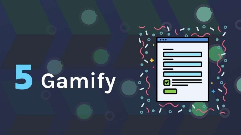 Gamify your online forms