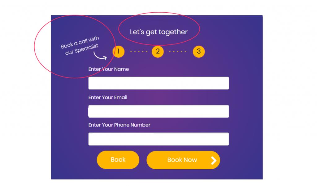 interactive user journey