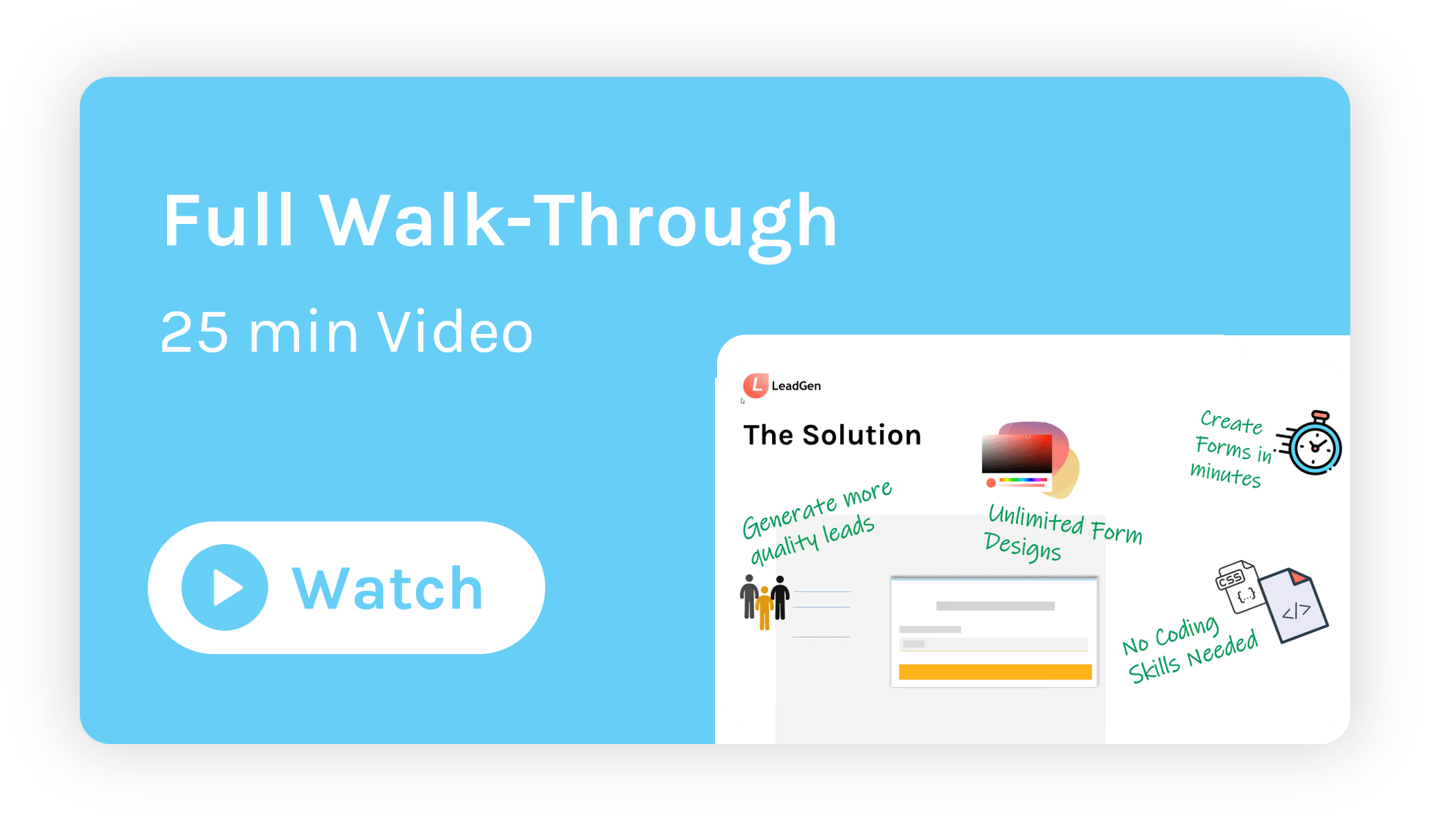 Full walk-through into LeadGen App