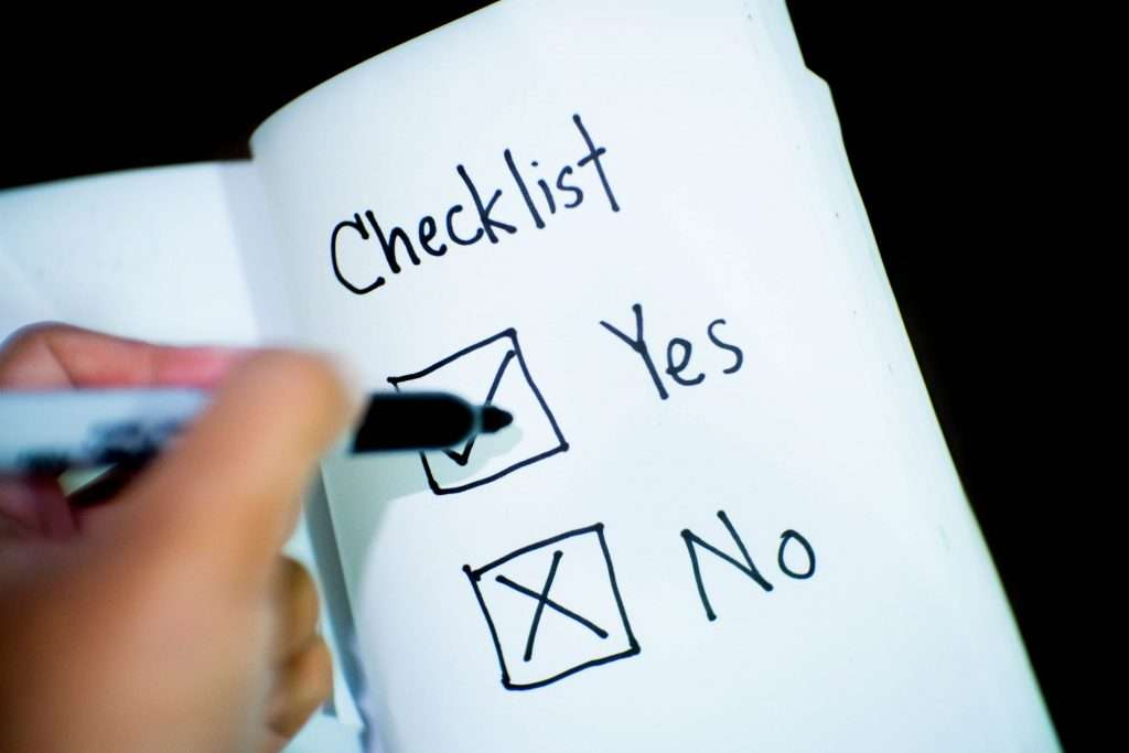 Business Data Collection Checklist