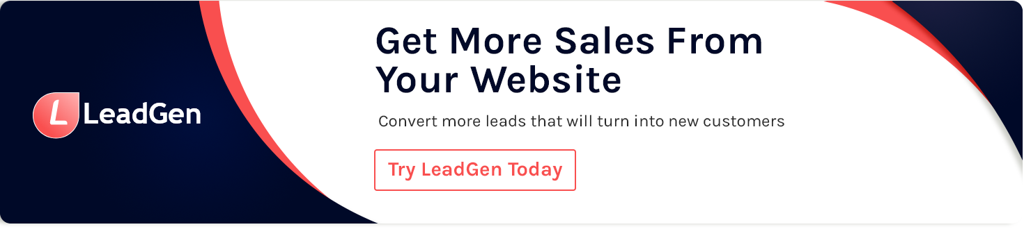 Sign up for LeadGen