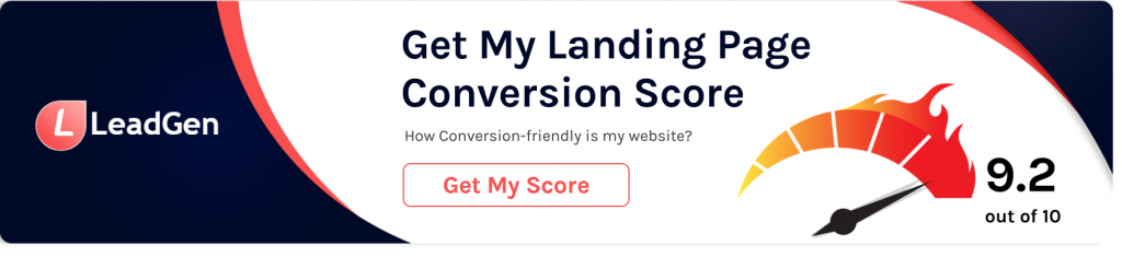 Landing page conversion checker
