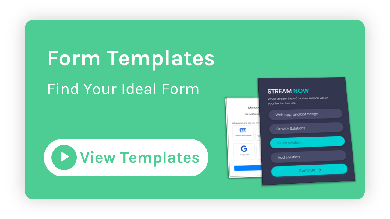 Form Templates video