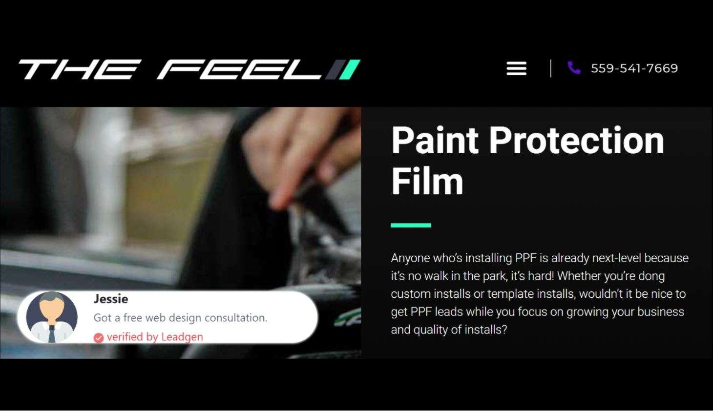 LeadProof Pop Up Feature | LeadGen Builder