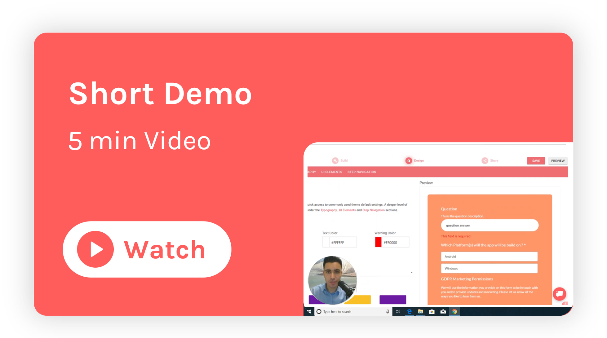 Short demo of LeadGen App