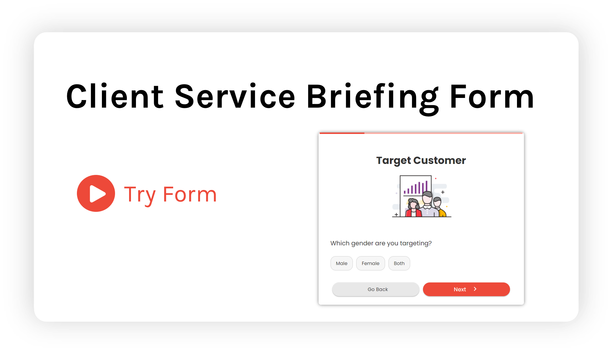 Client briefing form