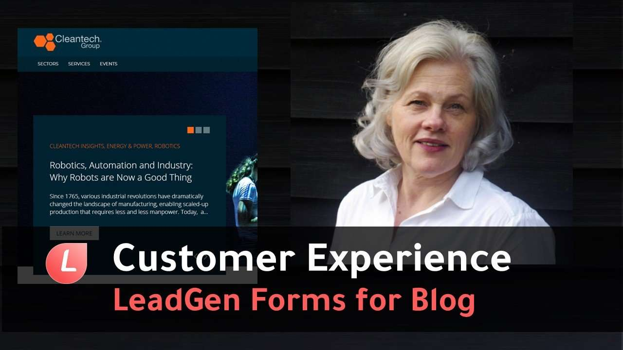 LeadGen App customer testimonial by Laura Dolby, Content Marketing Manager at Cleantech Group