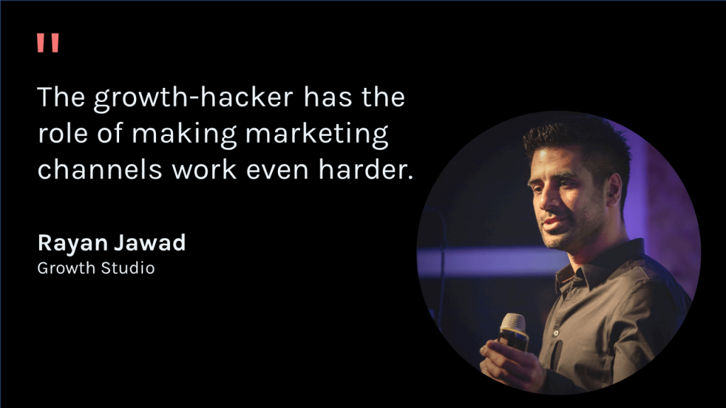 Rayan Jawad Quote about Growth Hacking