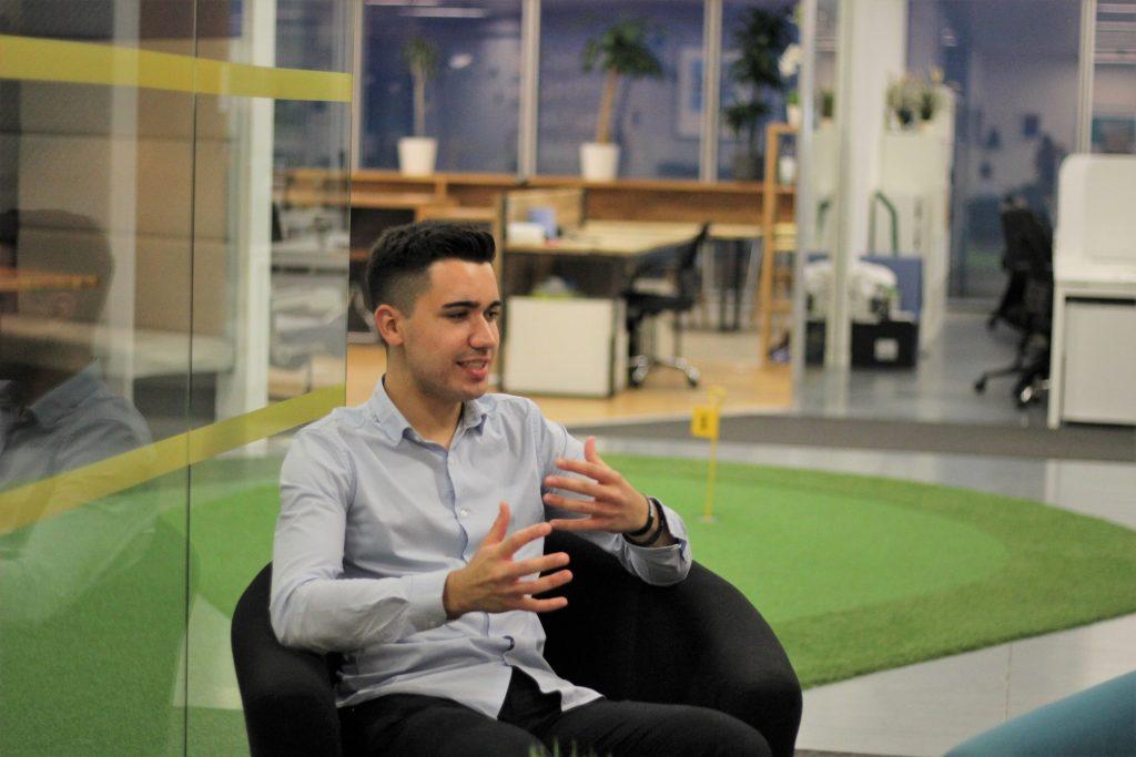 Chris is LeadGen App office
