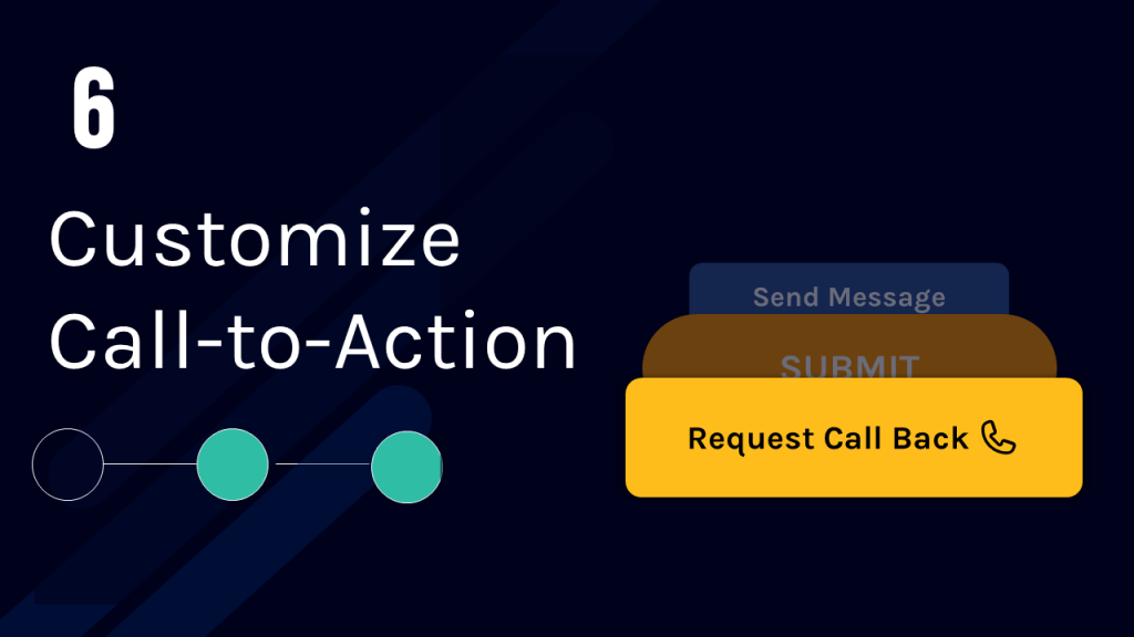 Customize call to action
