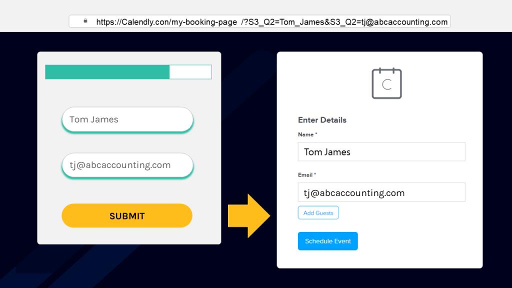 webhooks passing form data