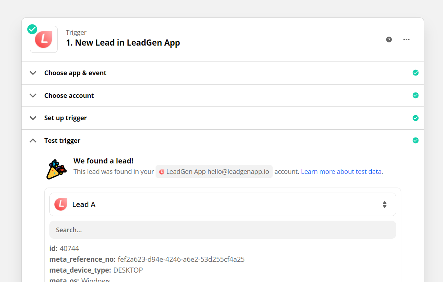 Customise LeadGen form design -  LeadGen builder