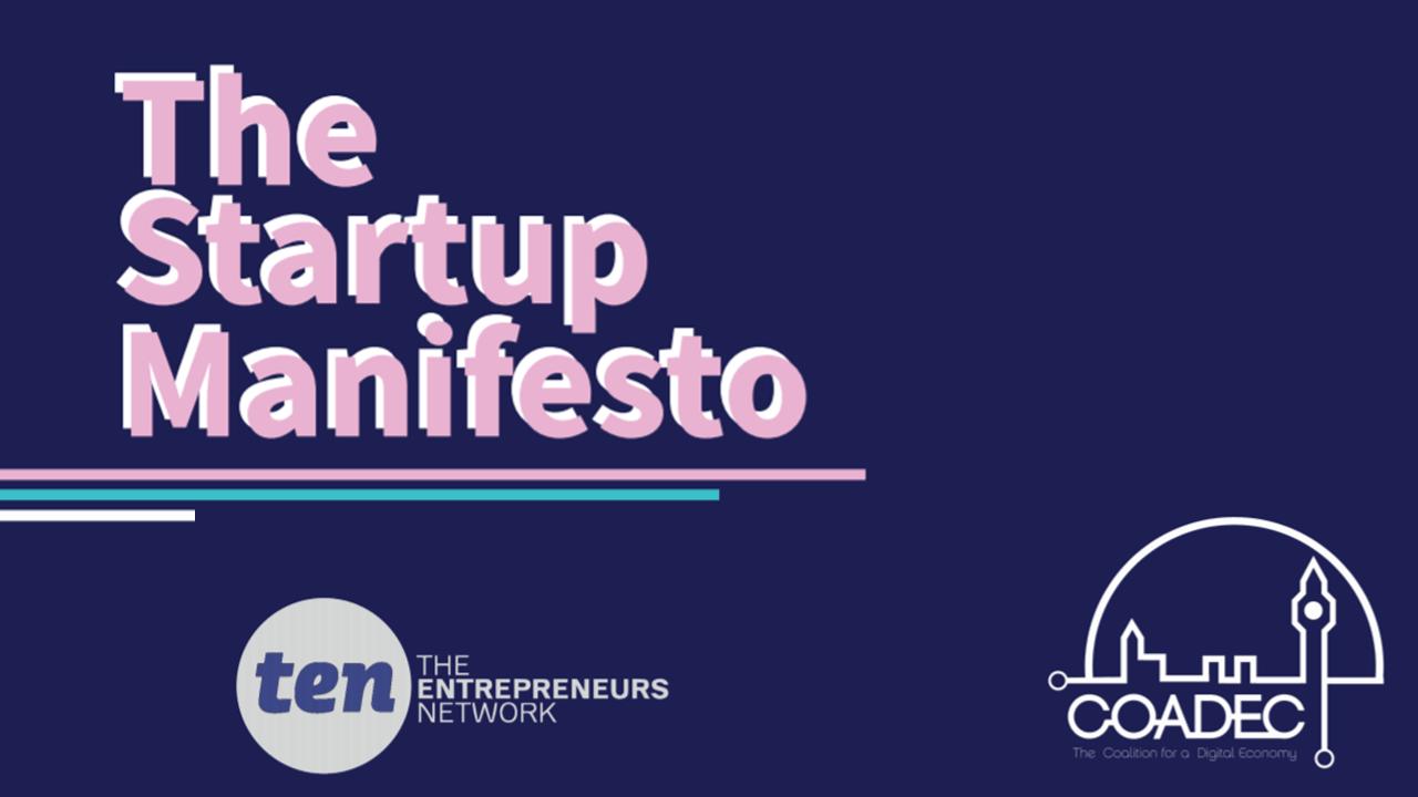 Coadec Startup Manifesto