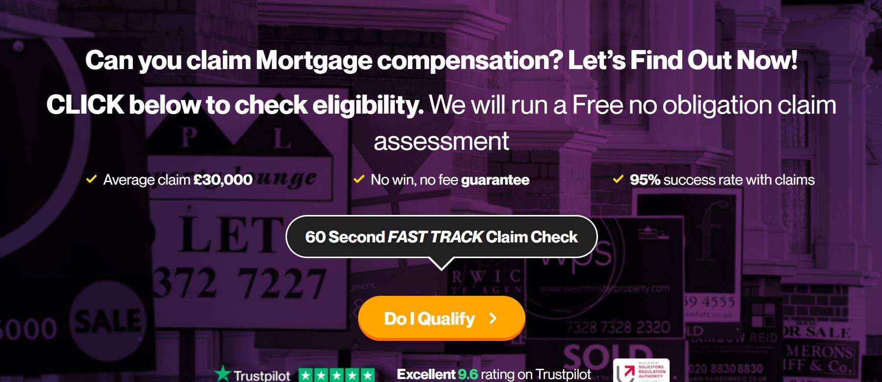 mortgage brokerage landing page