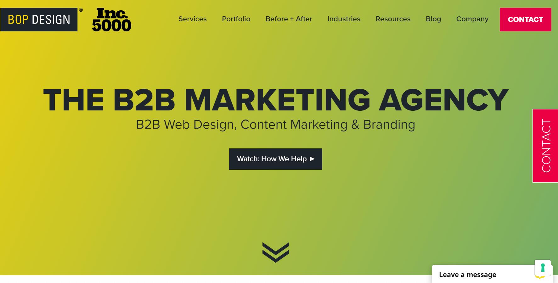 bop marketing agency