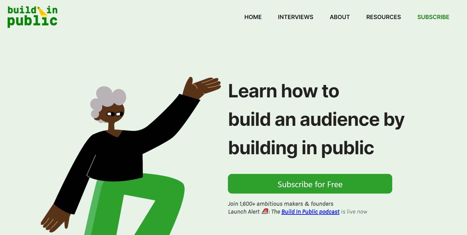 build in public movement
