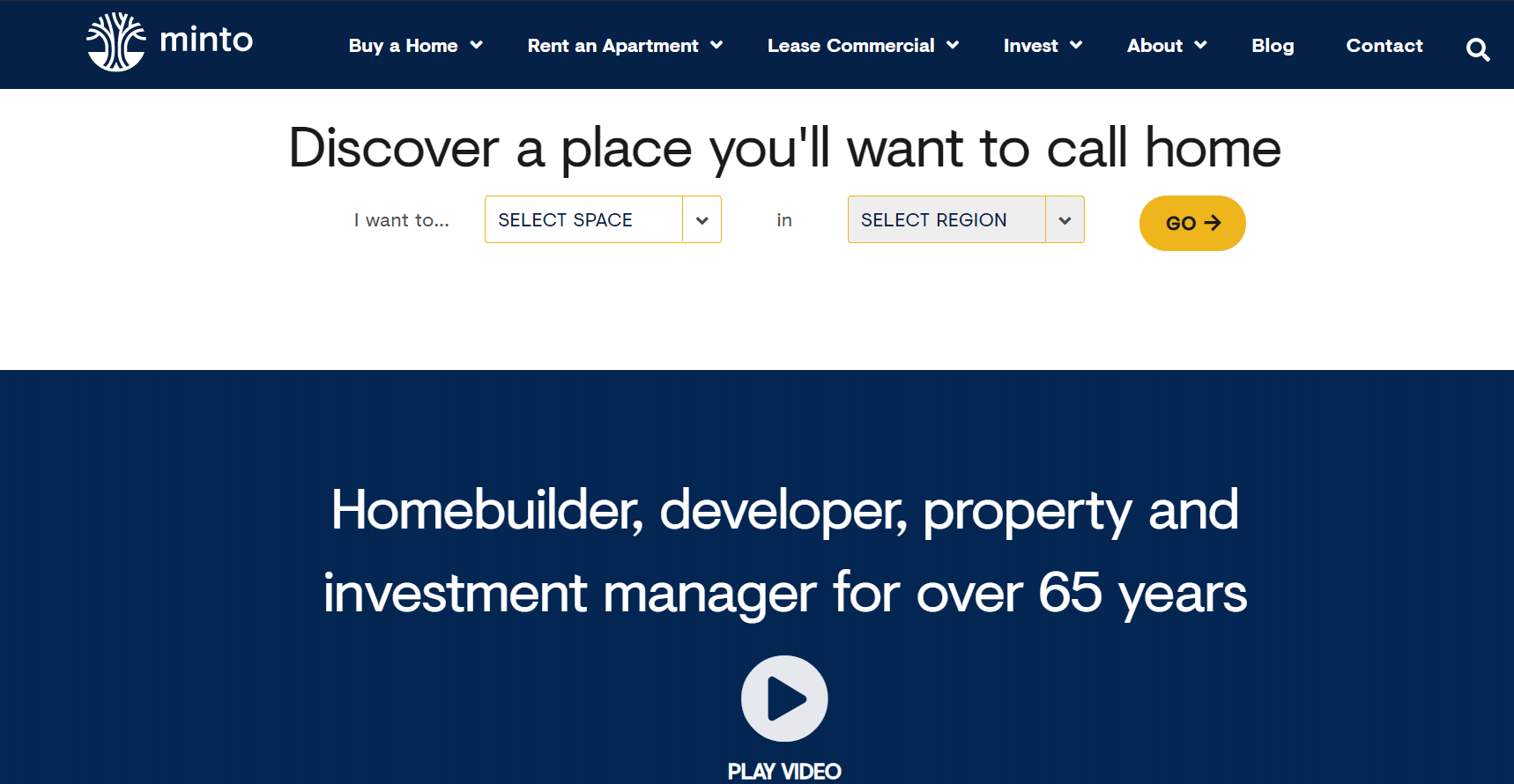 minto-landing-page