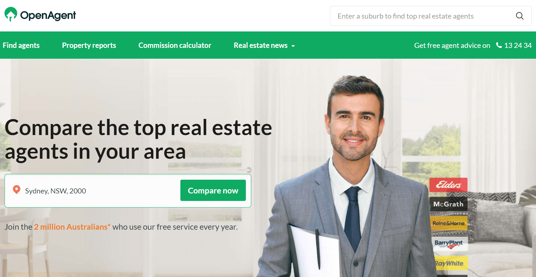 openagent-landing-page