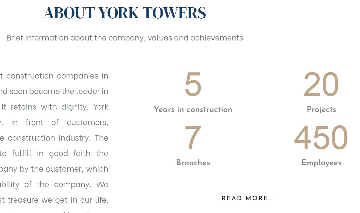 real estate company info