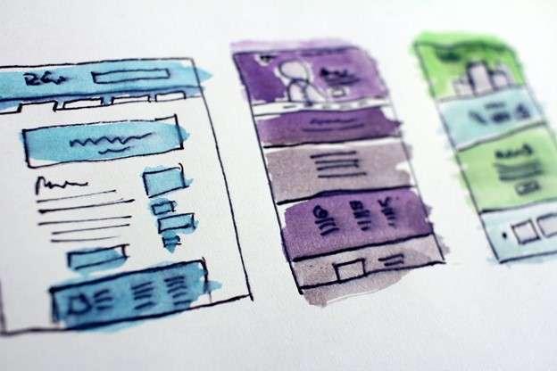 Email design templates illustration